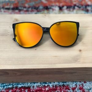 Orange Lens Sunglasses!